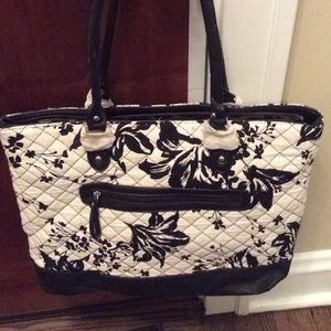 NEW! Parinda Allie Quilted Fabric Tote